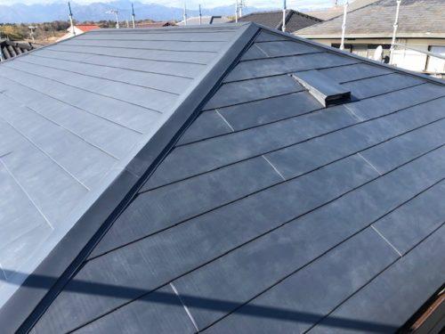 葺せ替え後 金属屋根